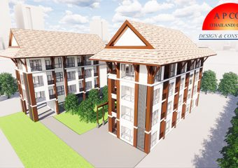 4层高的住宅建筑项目